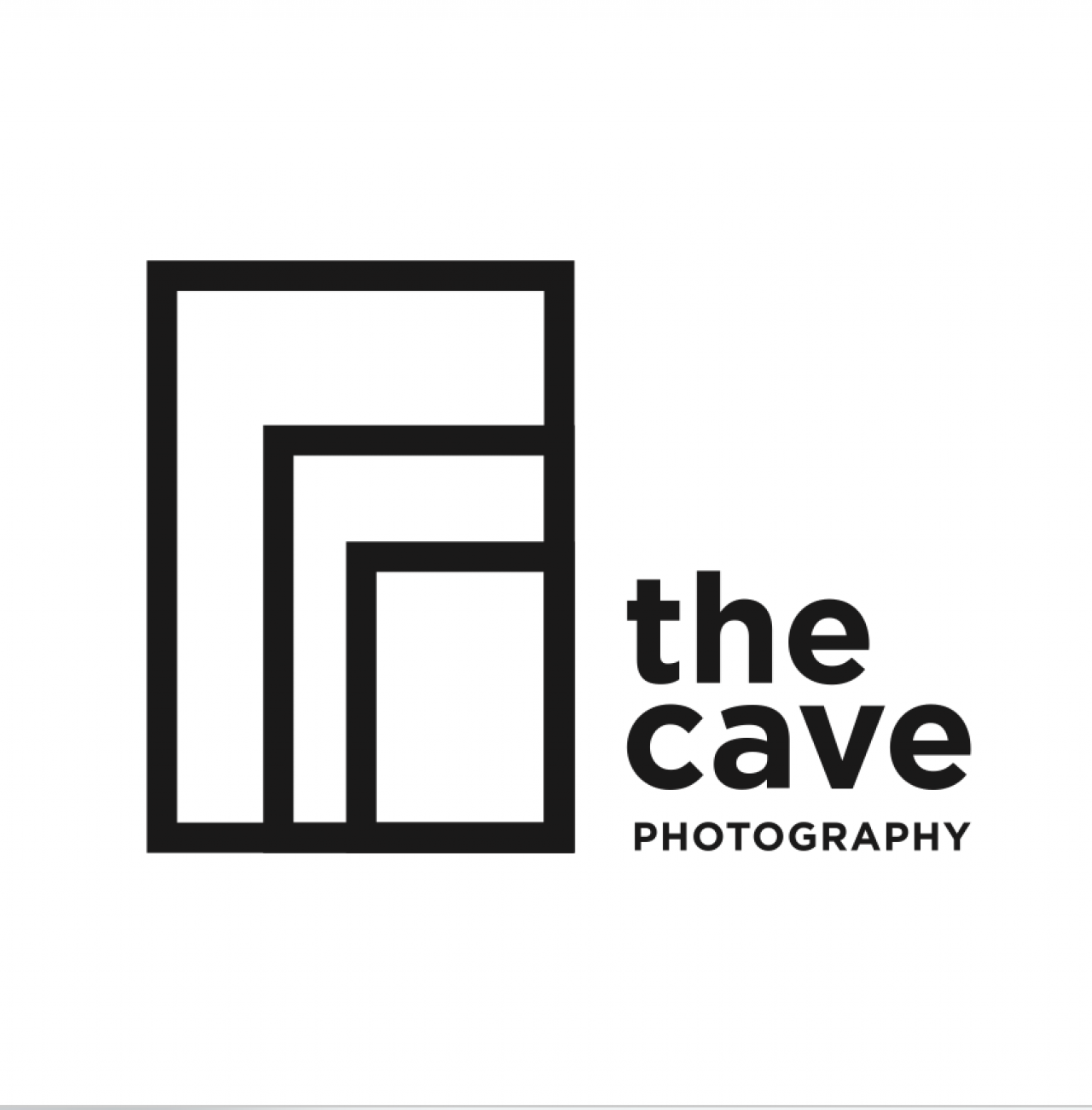 logo for THE CAVE PHOTOGRAPHY