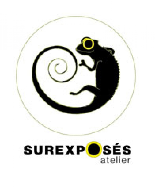 logo for Atelier Surexposés